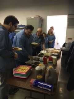 GEC employees enjoyed the company's fall cookout in York, PA