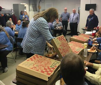 Genie Electronics Halloween-Pizza Party for Operations Crew - 2018