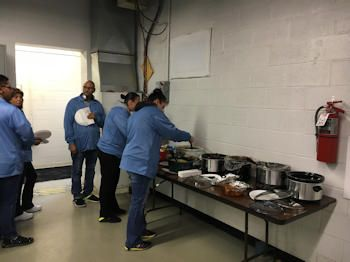 Genie Electronics Operations Thanksgiving Potluck Luncheon 2018